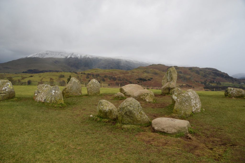 Castle Rigg Stone Circle 12 February 17 © Luchia Houghton