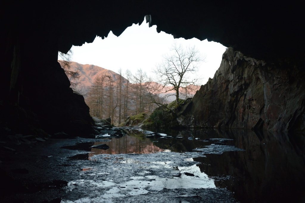 Rydal Cave 13th February 17 © Luchia Houghton