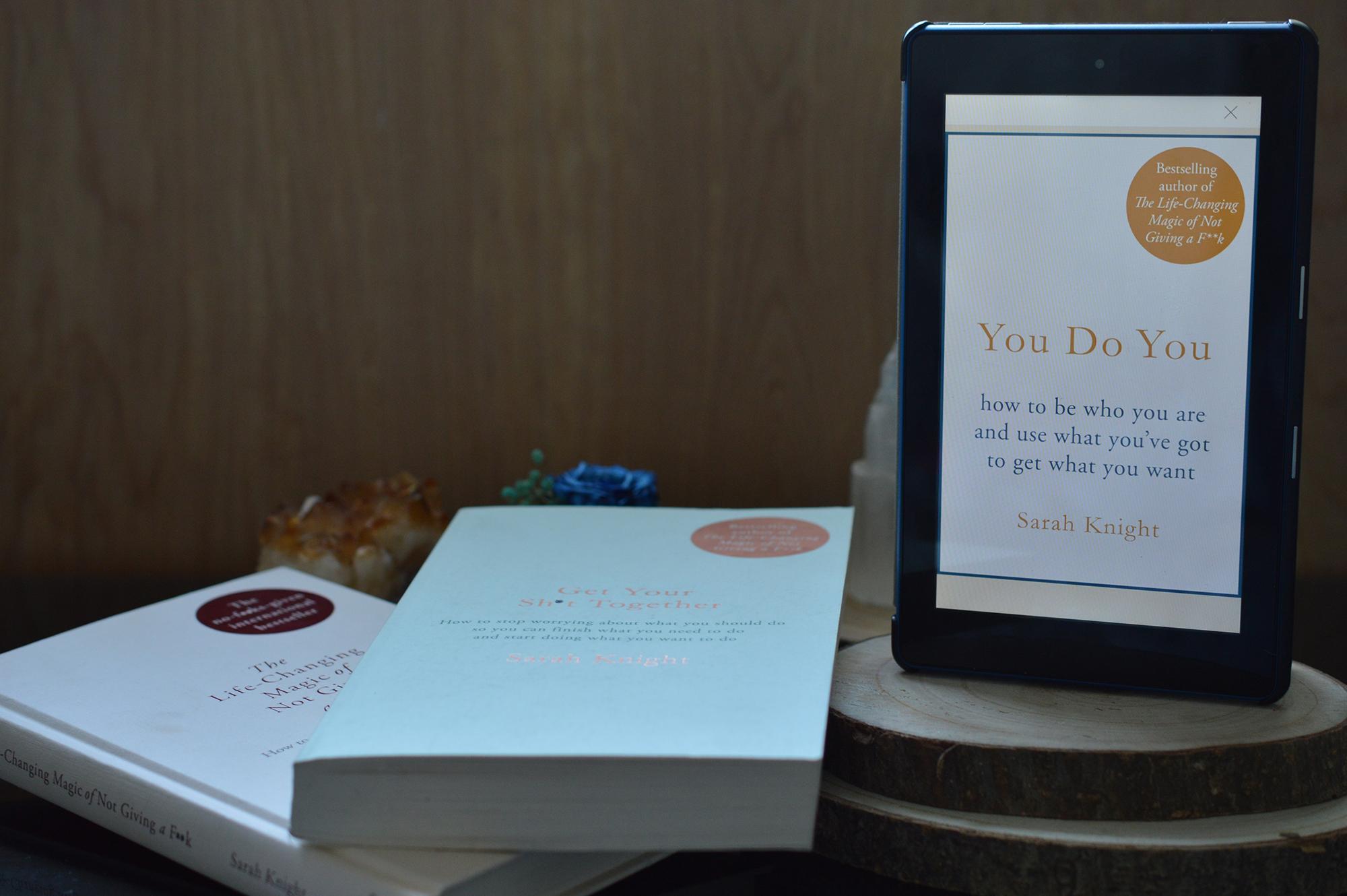 Sarah Knight, Self Help Books, Motivational Mondays